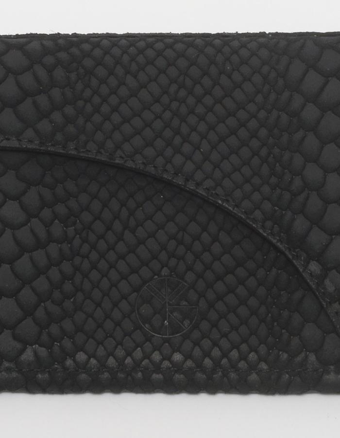 KGW bags - Black 'Dragon IV' mini shoulder bag / wallet