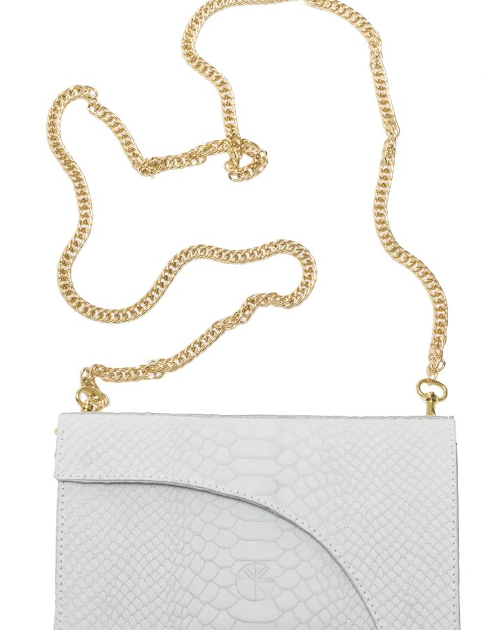 KGW bags - White 'Dragon IV' mini shoulder bag / wallet