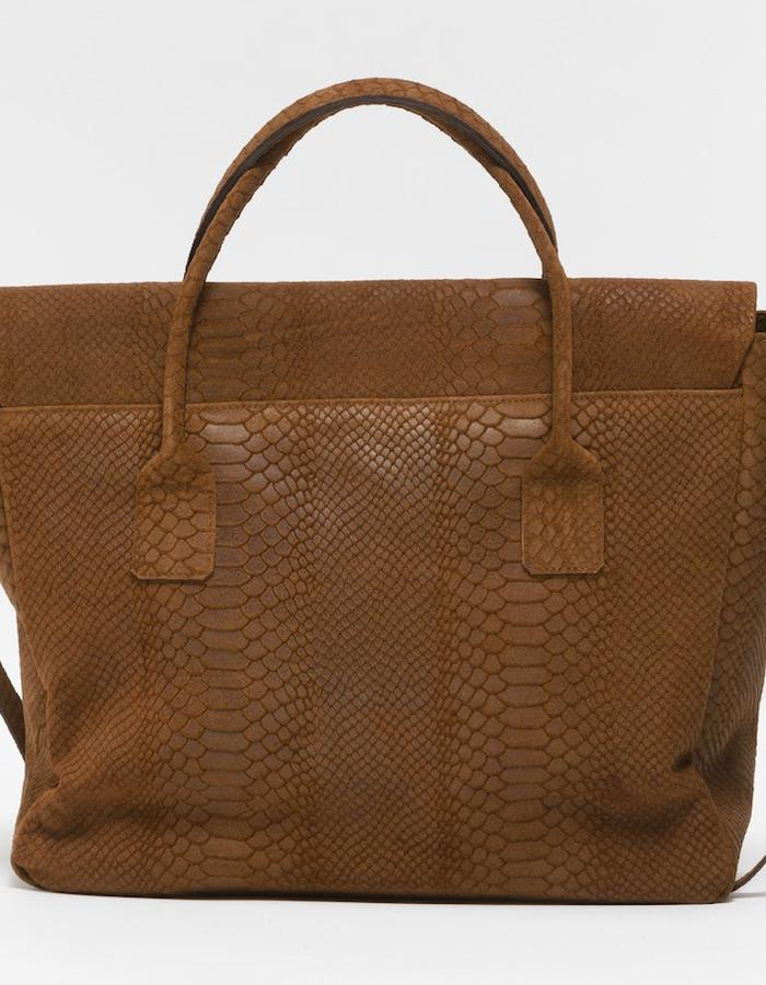 KGW bags - Tanned Brown 'Dragon I' tote