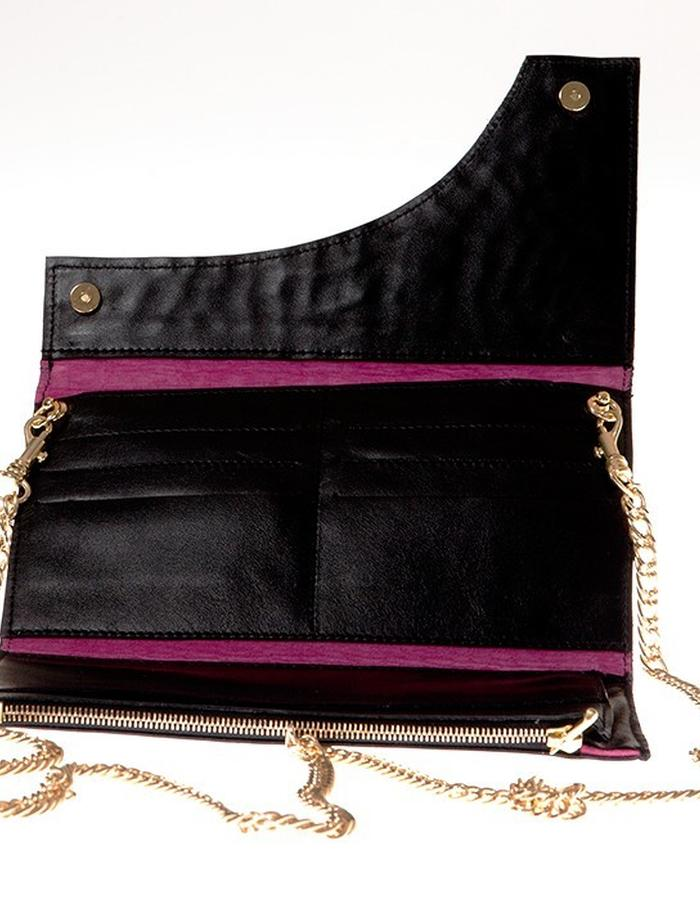 KGW bags - Yellow & Black mini shoulder bag / wallet
