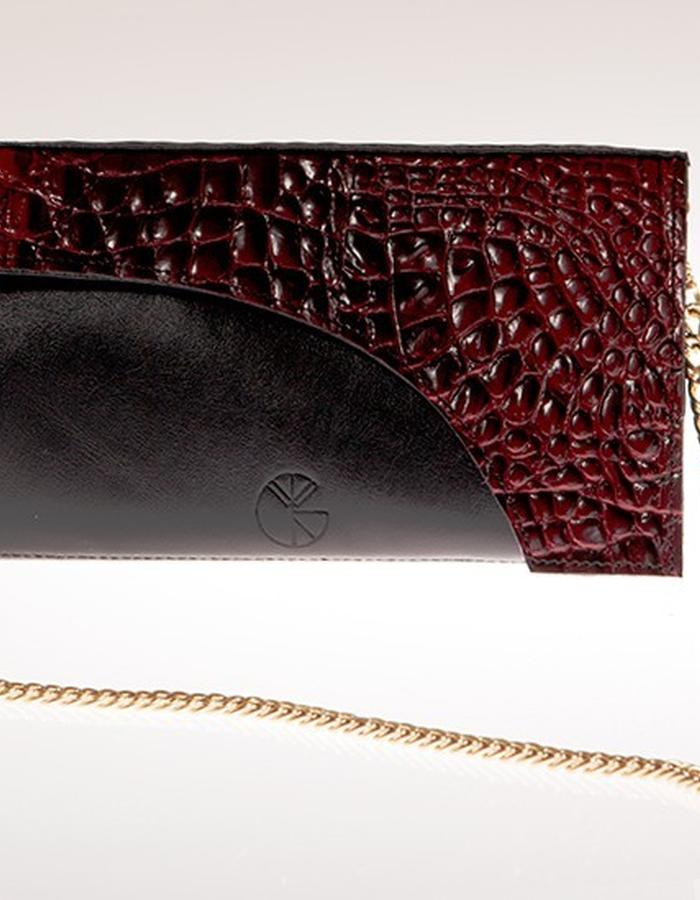 KGW bags - Red & Black mini shoulder bag / wallet