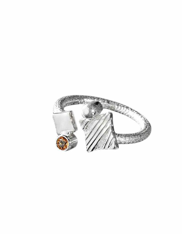 KGW by S.B. - Sterling silver with Citrone