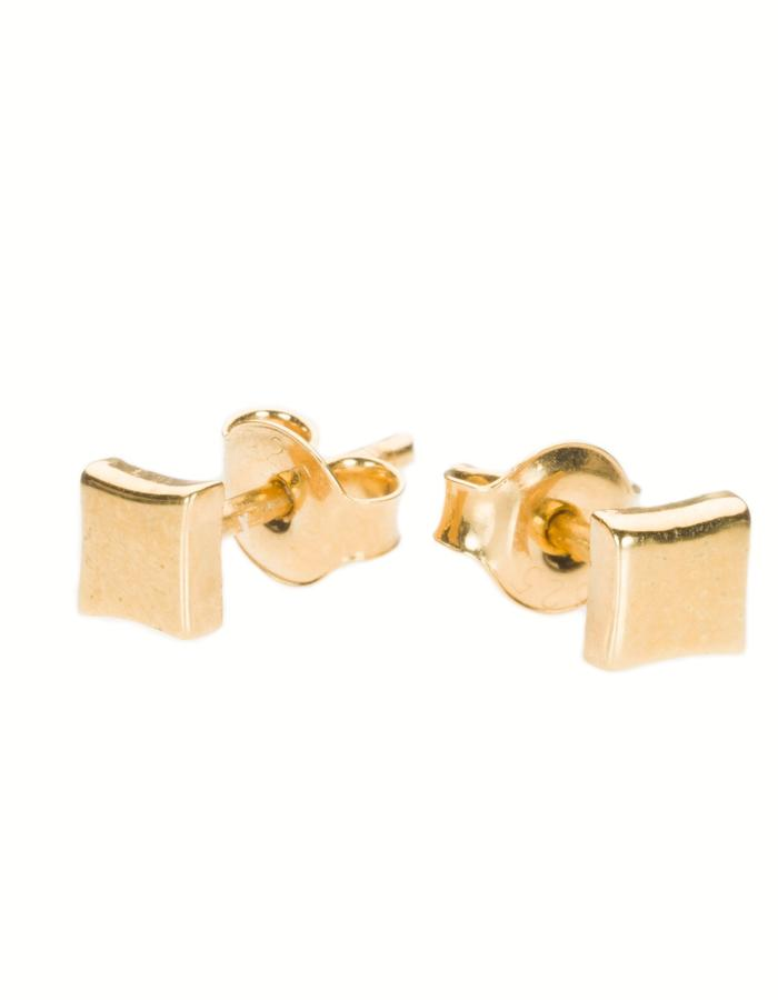 KGW by S.B. - Small 24k gold plated sterling silver studs