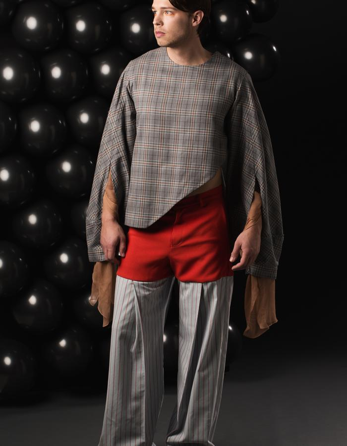 Pledge Blouse and Guilded Trousers