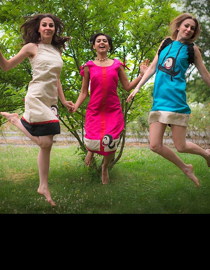 MANDALI MENDRILLA WISH TREE DRESS HAPPY I,II,III