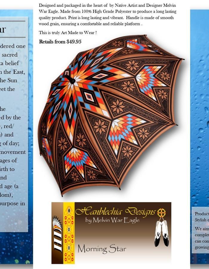 Morning Star Luxury Umbrella