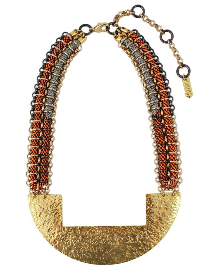 Massai necklace by Sollis jewellery