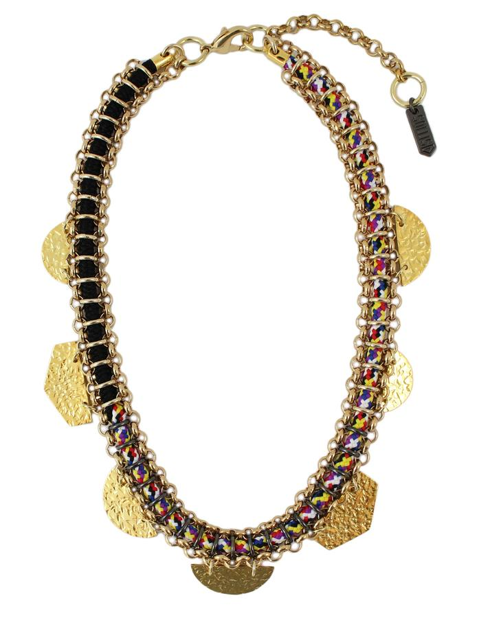 Taka necklace by Sollis jewellery