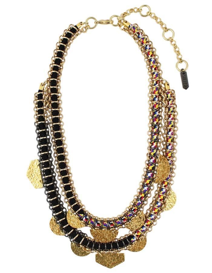Mbuti necklace by Sollis jewellery
