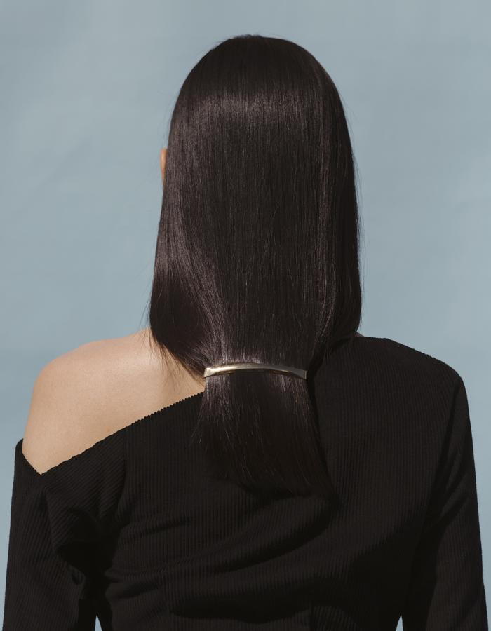 MARTINE JARLGAARD LONDON / Black Counterpoise Dress / SS16