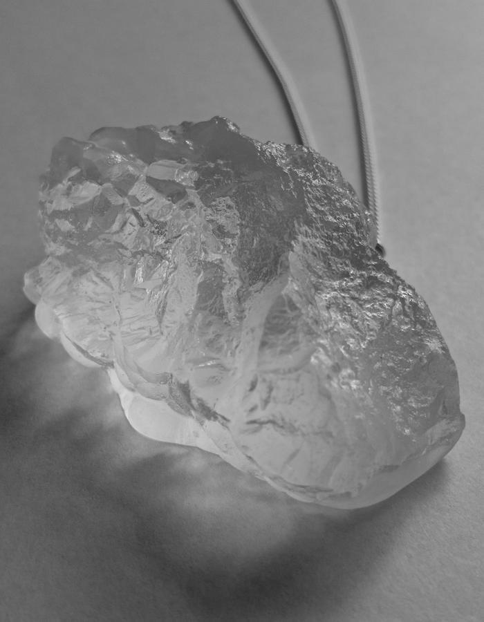 XL Bio Resin Pendant Necklace