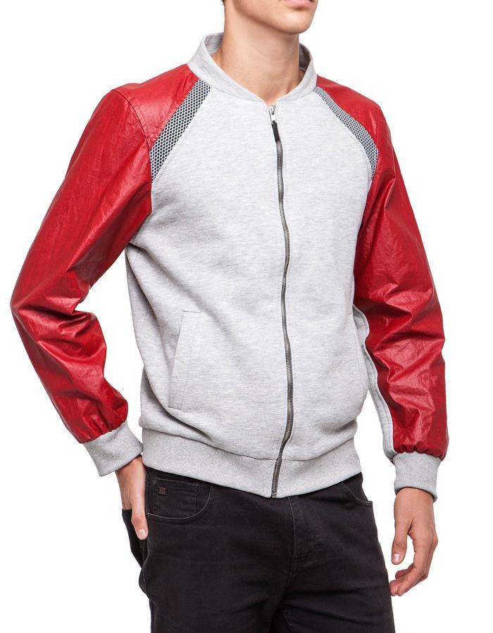Grey & Red Jacket