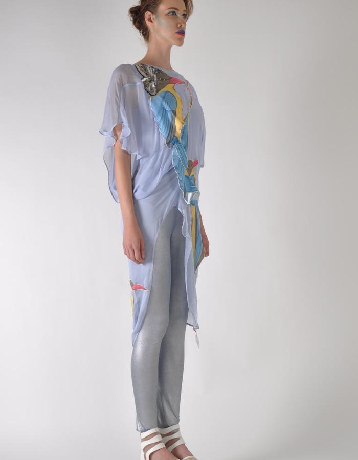 sport fantasy gaia bird jumpsuit.