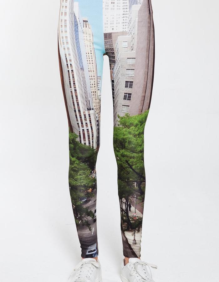Chrysler Building Leggings