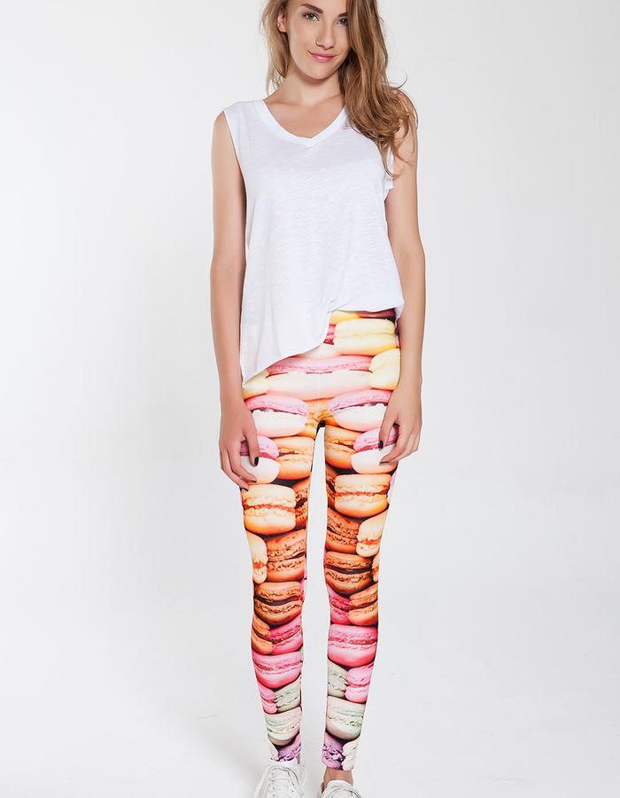 Macarons Leggings