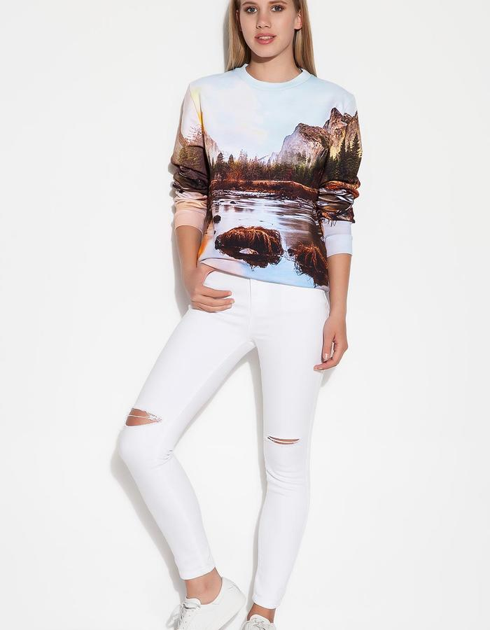 Yanılsama Unisex Sweatshirt