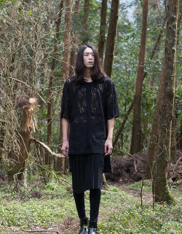 2016 ss KIZUNA Look5  Top:161T01 Skirt:161K01
