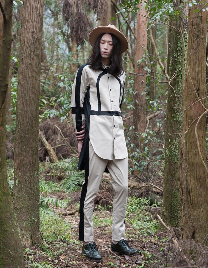 2016 ss KIZUNA Look15  Top:161T07 Pants:161P02
