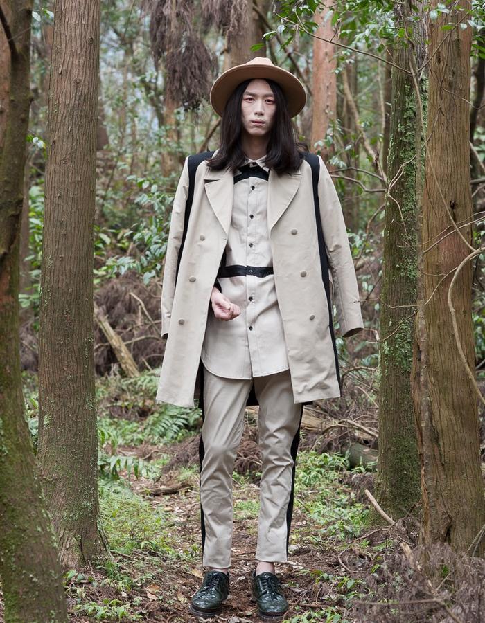2016 ss KIZUNA Look16  Suit:161J02 Top:161T07 Pants:161P02