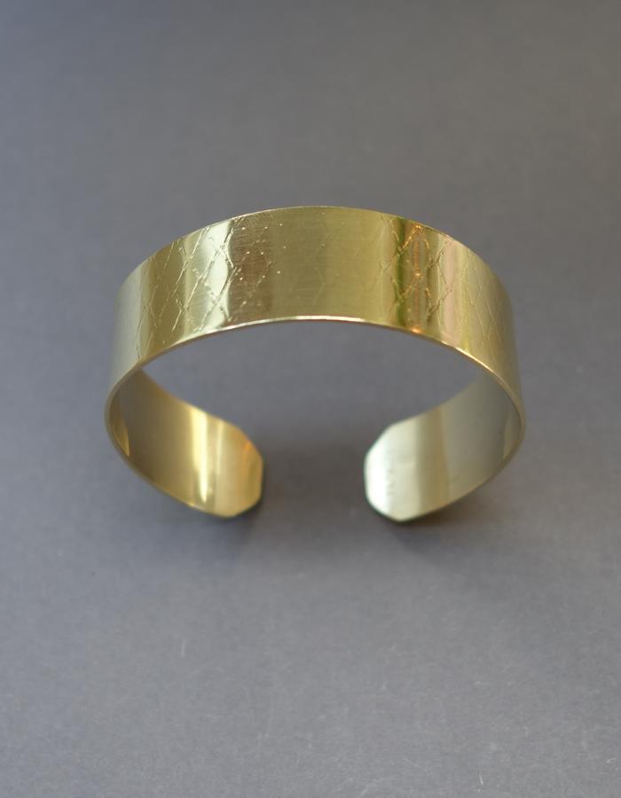 Net brass cuff small