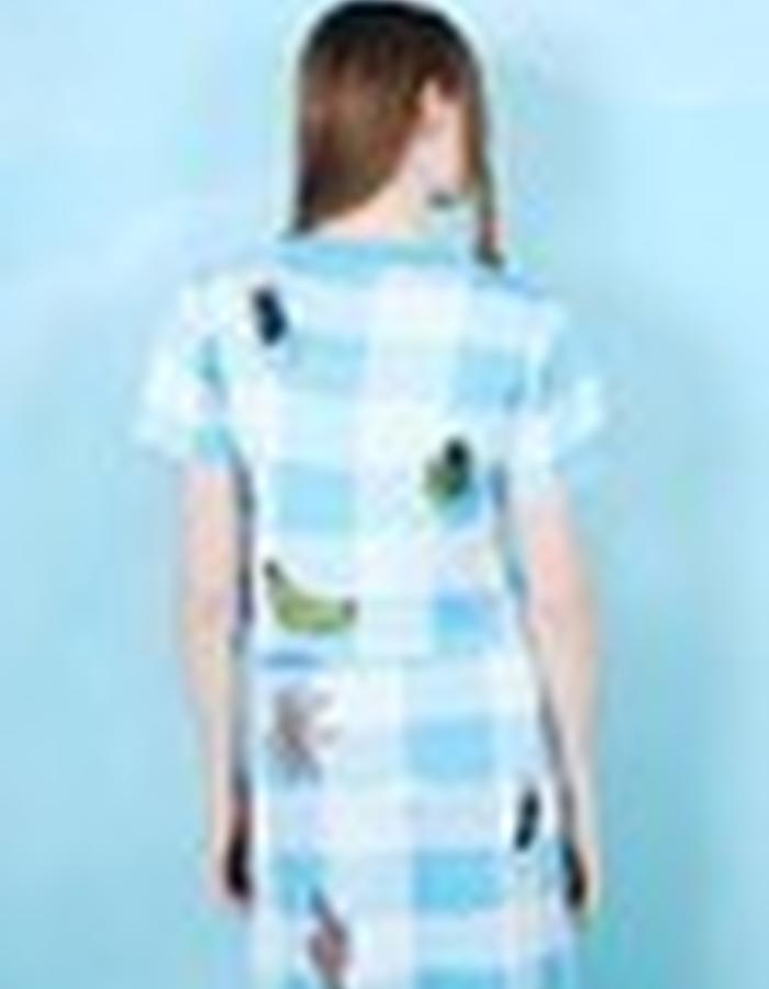 Gingham Patch T-Shirt