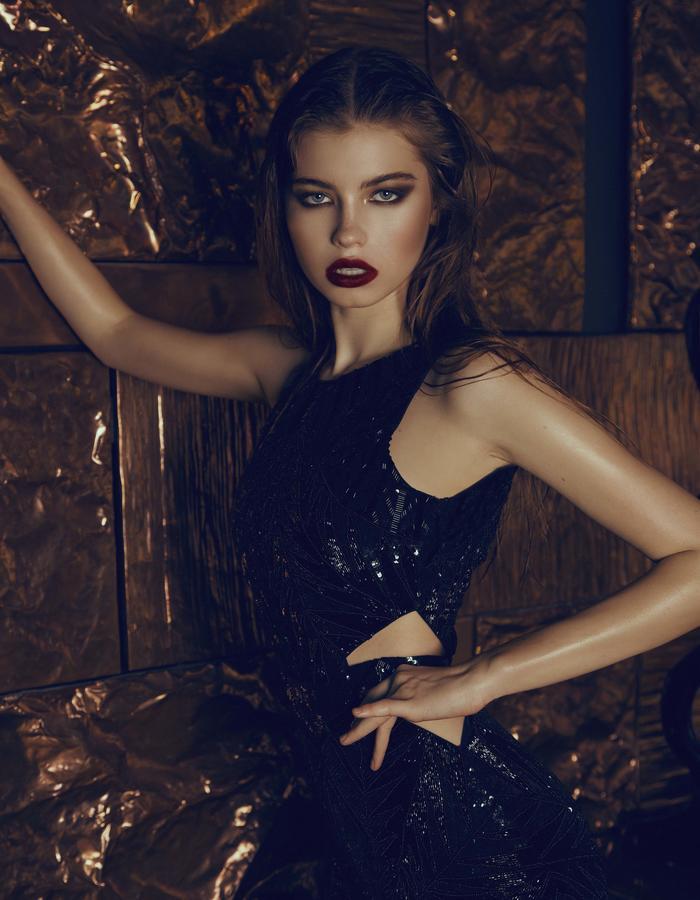The Aloura London Alexis Gown