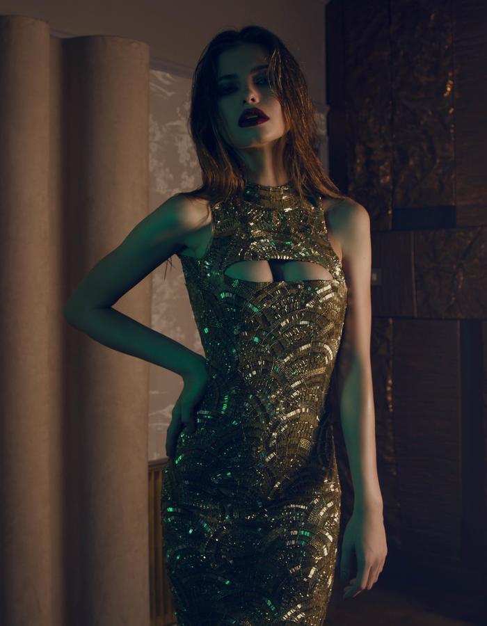 The Aloura London Madison Gown