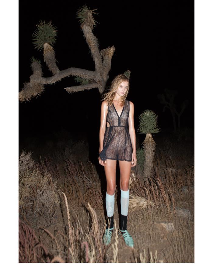 Emily Daccarett Lace Mini