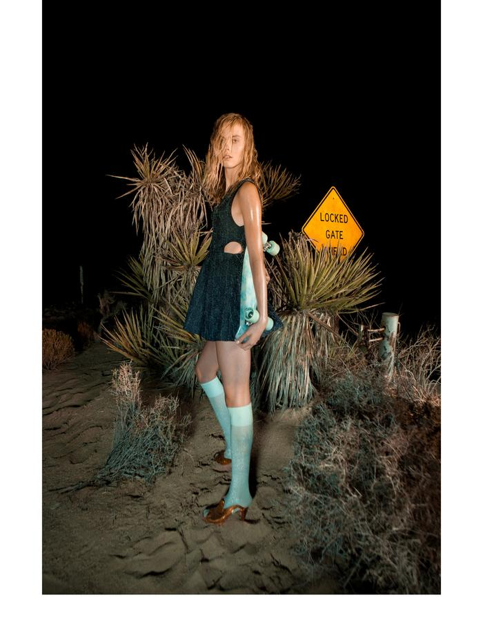 Emily Daccarett Pill denim dress