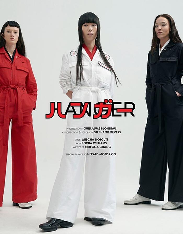 HANGER STUDIO HANGER INC AW16 LOOKBOOK Jumpsuit