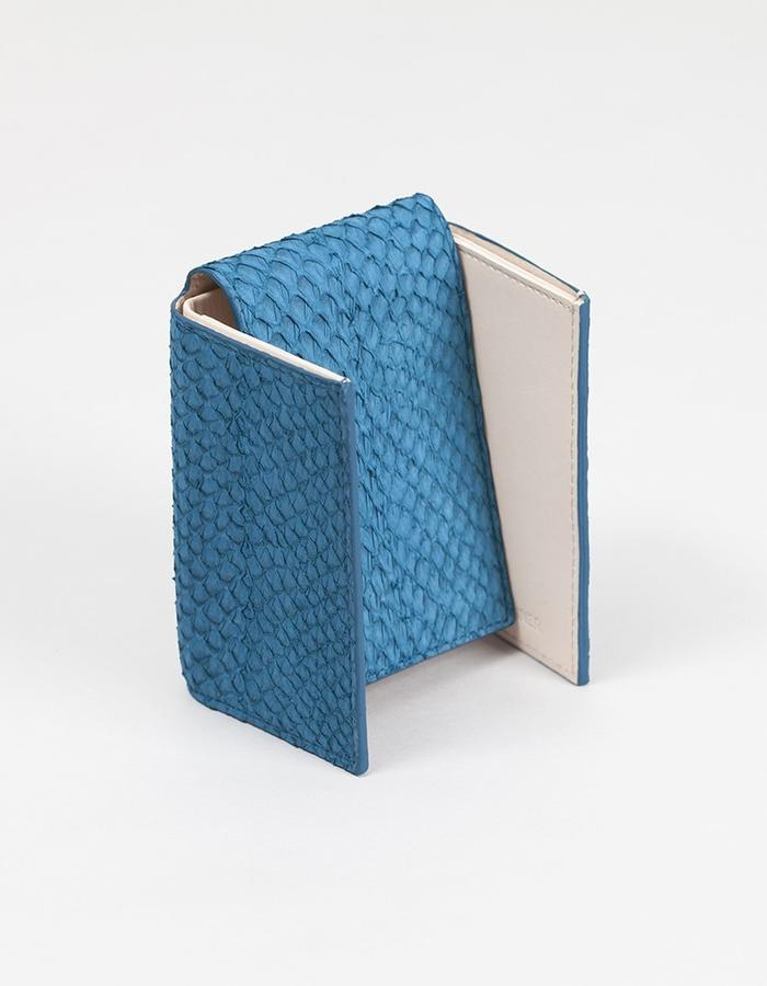 W2 - Billfold and Cards Wallet - seablue