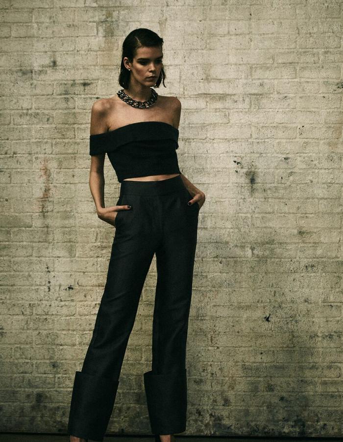 Charlize Crop + Simone Pant