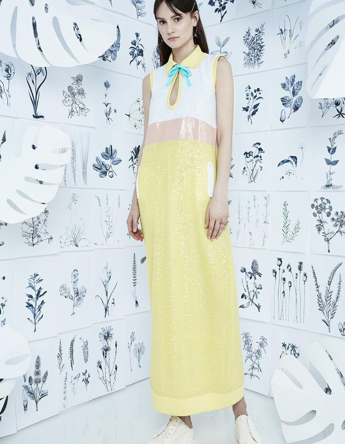 MID JULY Sequin Dress