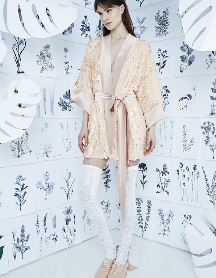 HOME ALONE Sequin Robe