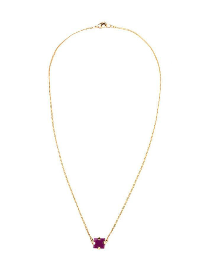Sahil cube necklace