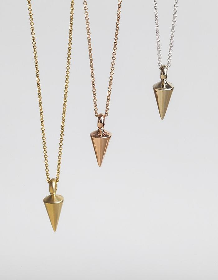 Plumb Weight | 14 karat gold | Code: PEN-223
