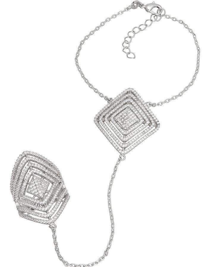 Micro Pave Sprinkled Wonderbar Wristlet