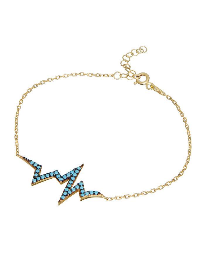 Sterling Candi Heartbeat Bracelet