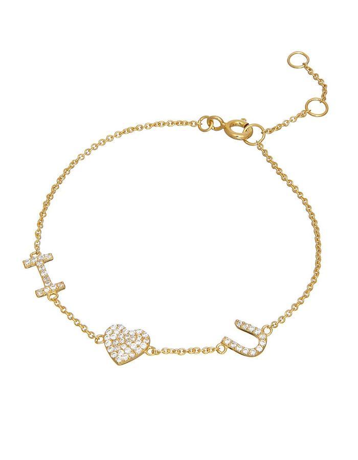 Sterling Candi I Love You Bracelet