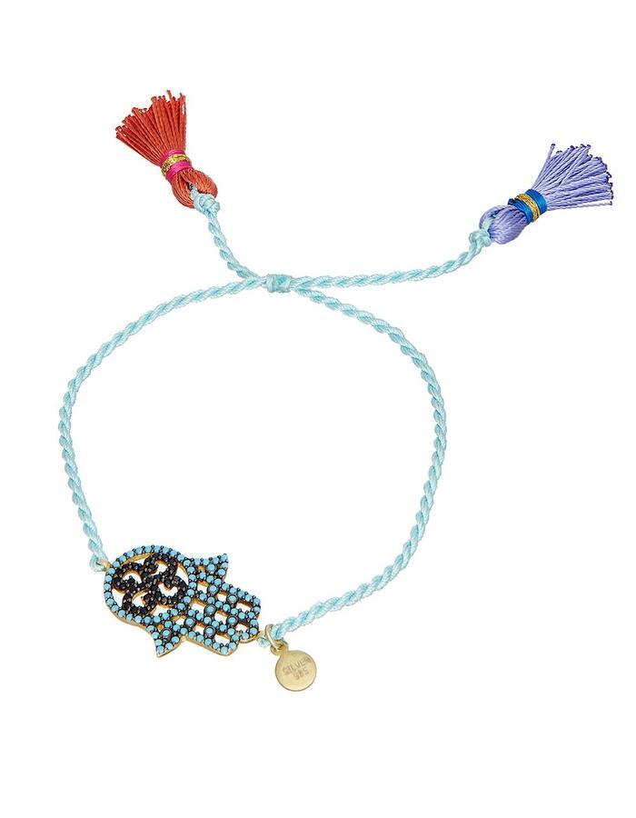 Sterling Candi Hand Bracelet