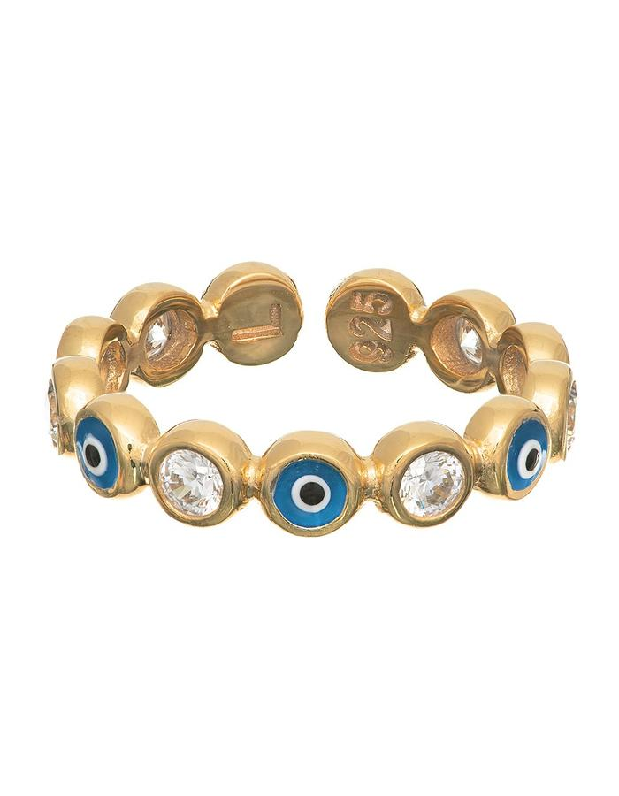 Sterling Candi Eyez Ring