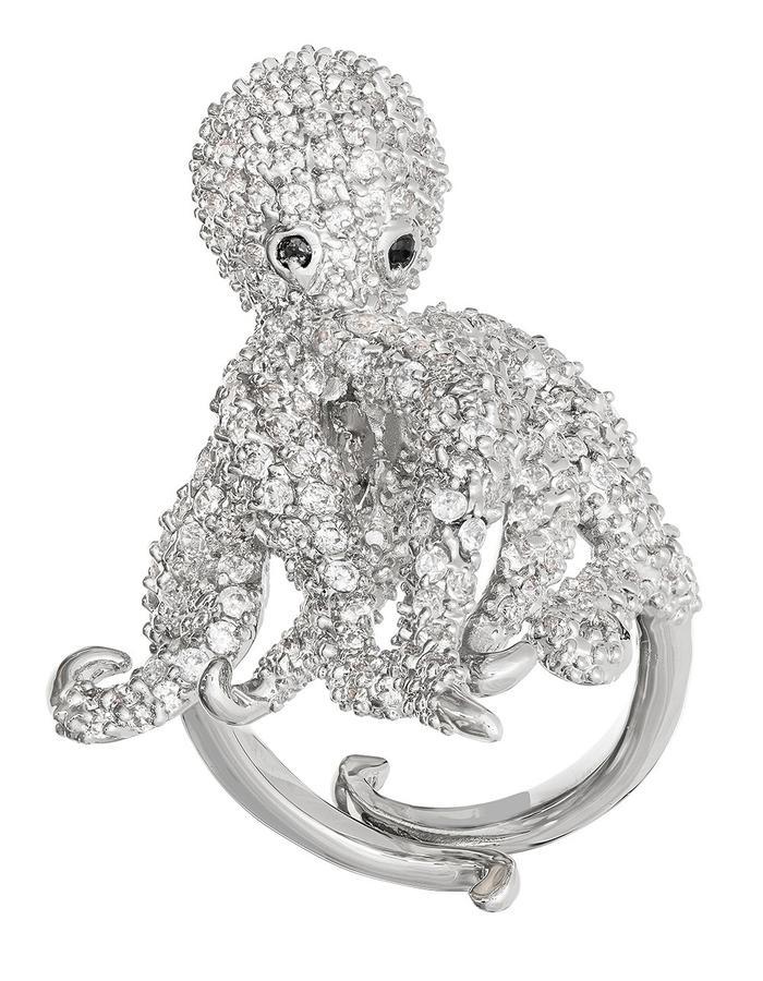 Sprinkled Octopus Ring