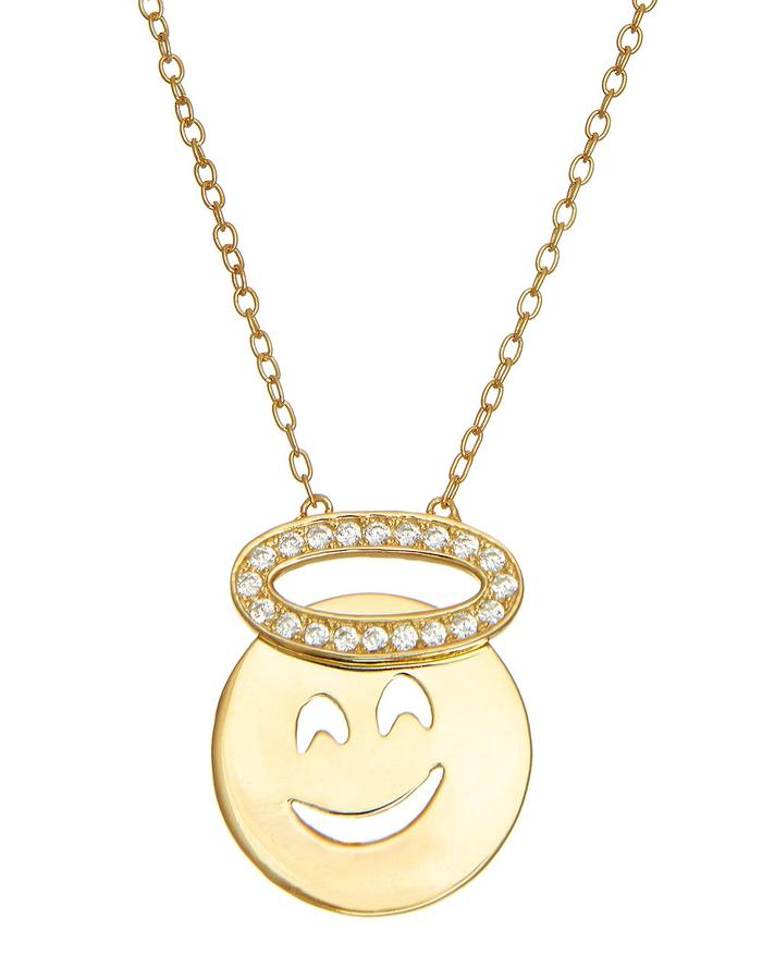 Sterling Candi Angel Necklace