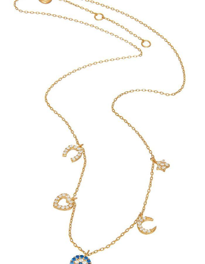 Sterling Gold Candi Charmz Necklace