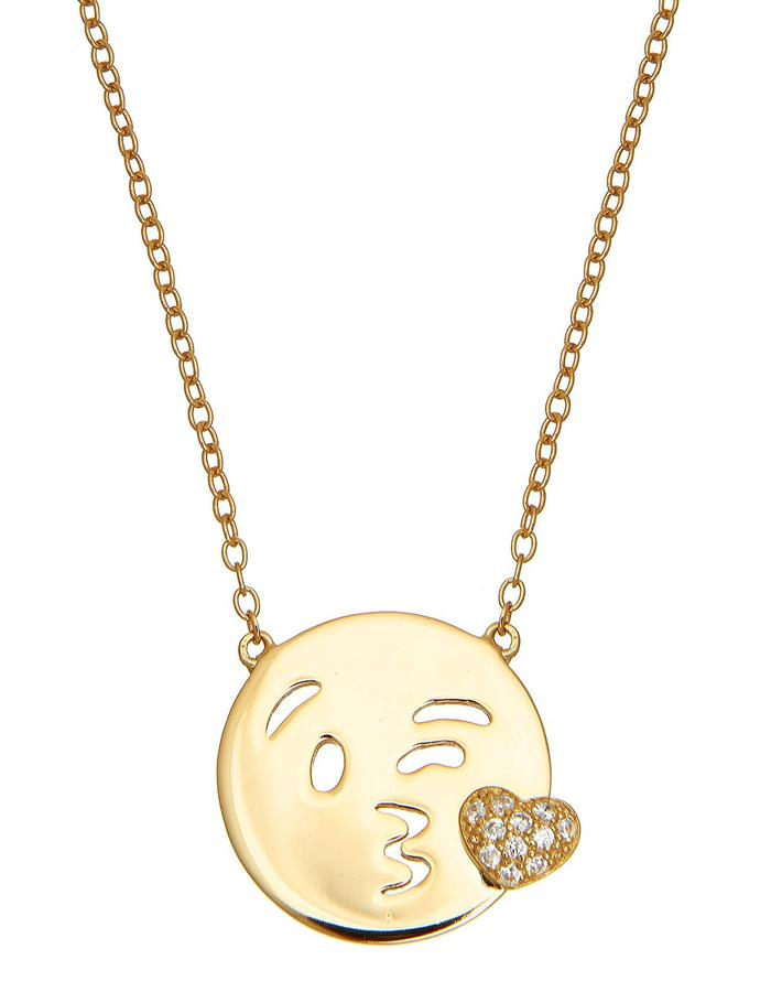 Sterling Candi Wink Necklace