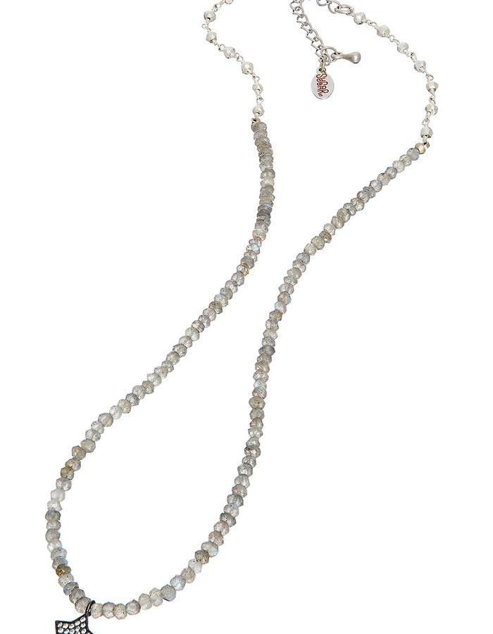 Sterling Moon Sugar Rox Necklace