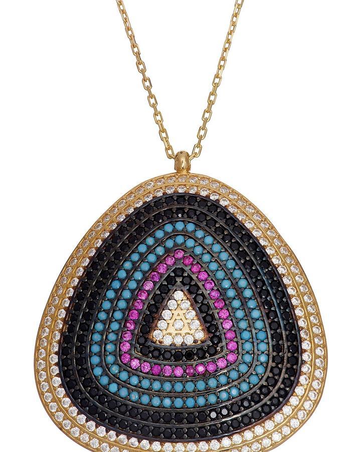Sterling Candi Jawbreaker Necklace