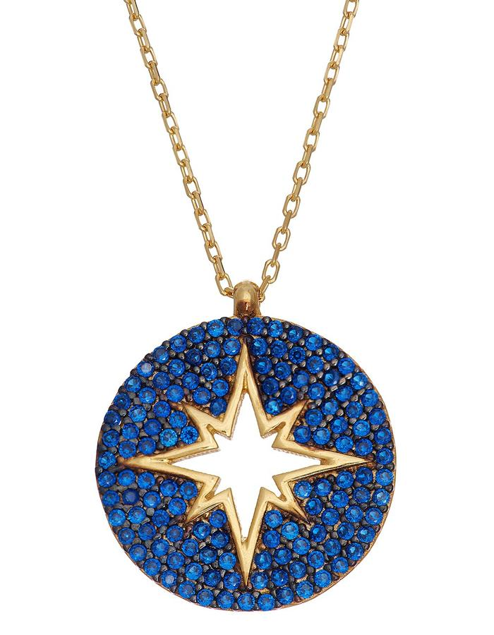 Sterling Candi Starburzt Necklace