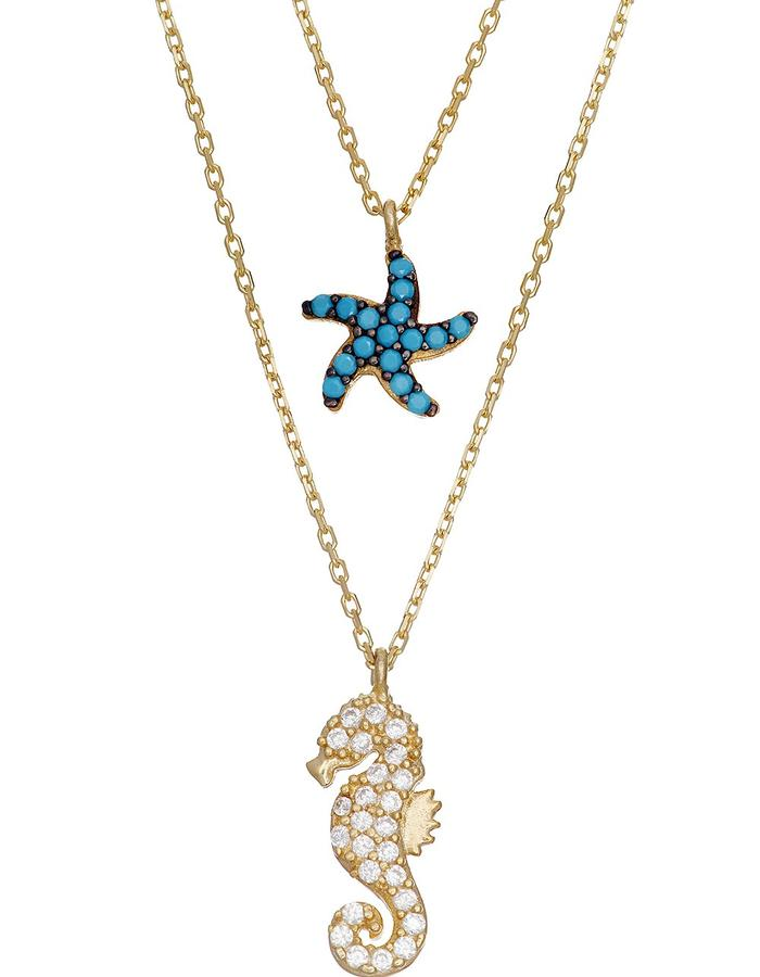 Sterling Candi Seastar Necklace