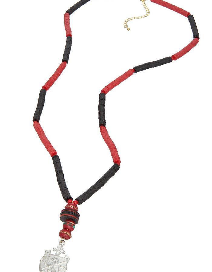 Cherri Record Rock Necklace